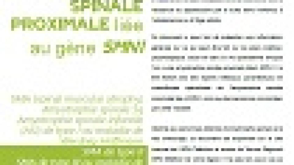 Zoom sur …. Zoom sur… L'amyotrophie spinale proximale liée au gène SMN1